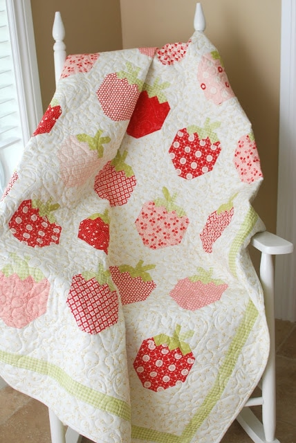 Pattern Of The Month August 2013 Strawberry Social The