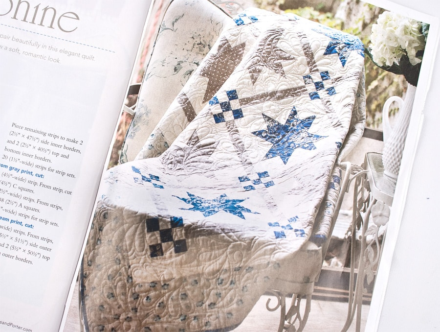 Easy Quilts Magazine - Blueberry Swirl Quilt and Josephine Quilt ... : fons and porter quilt patterns - Adamdwight.com