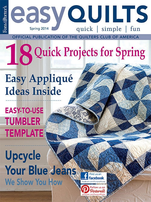 Easy Quilts Magazine Blueberry Swirl Quilt And Josephine Quilt