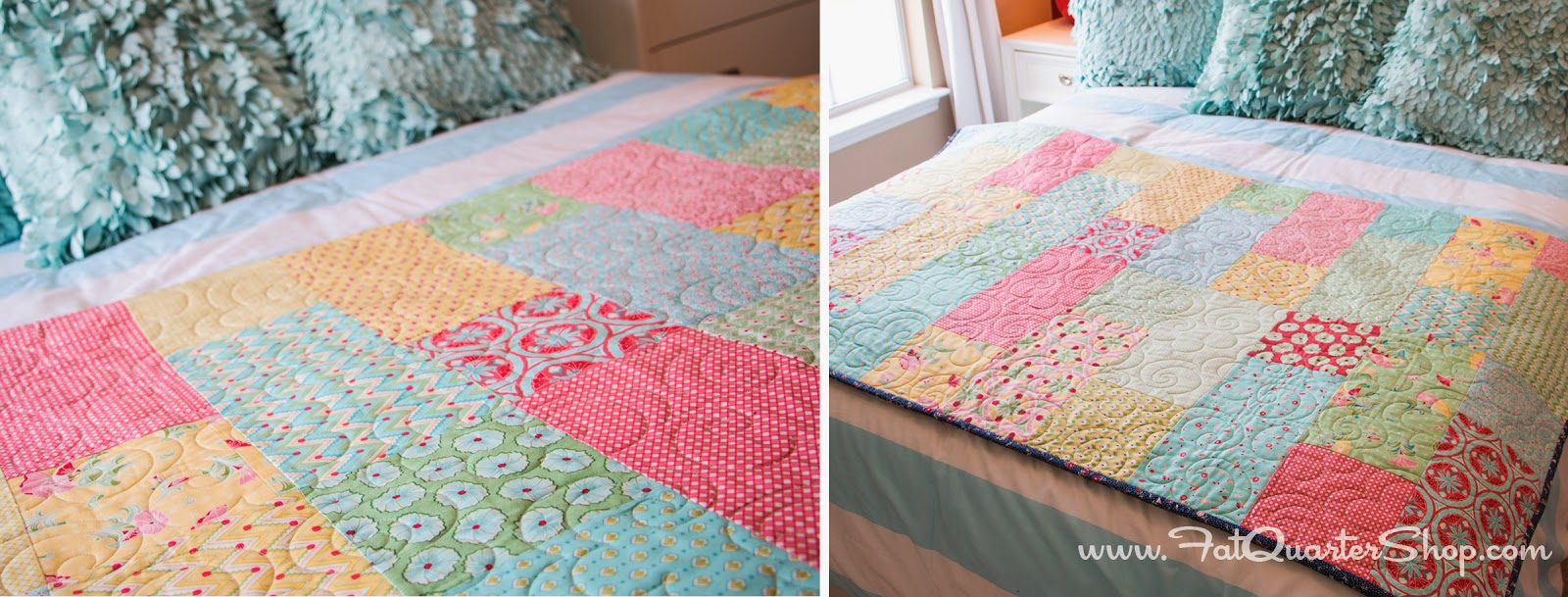 Fat Quarter Fizz: Free Quilt Pattern with Fat Quarter Shop - The ... : easy quilt patterns using fat quarters - Adamdwight.com