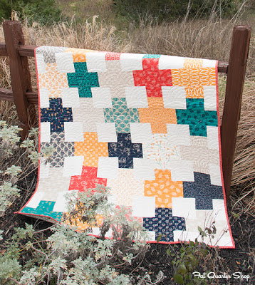 Layer Cake Lattice - Free Quilt Pattern with Fat Quarter Shop ... : 6 fat quarter quilt patterns - Adamdwight.com