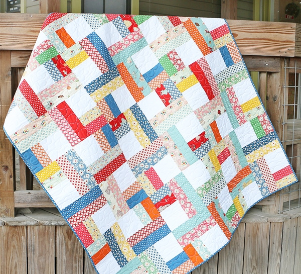 Shortcut Quilt Jelly Roll Twist The Jolly Jabber Quilting Blog Fascinating Jelly Roll Quilt Patterns
