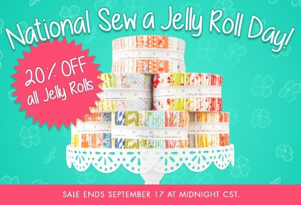 Jelly Roll Sale at Fat Quarter Shop