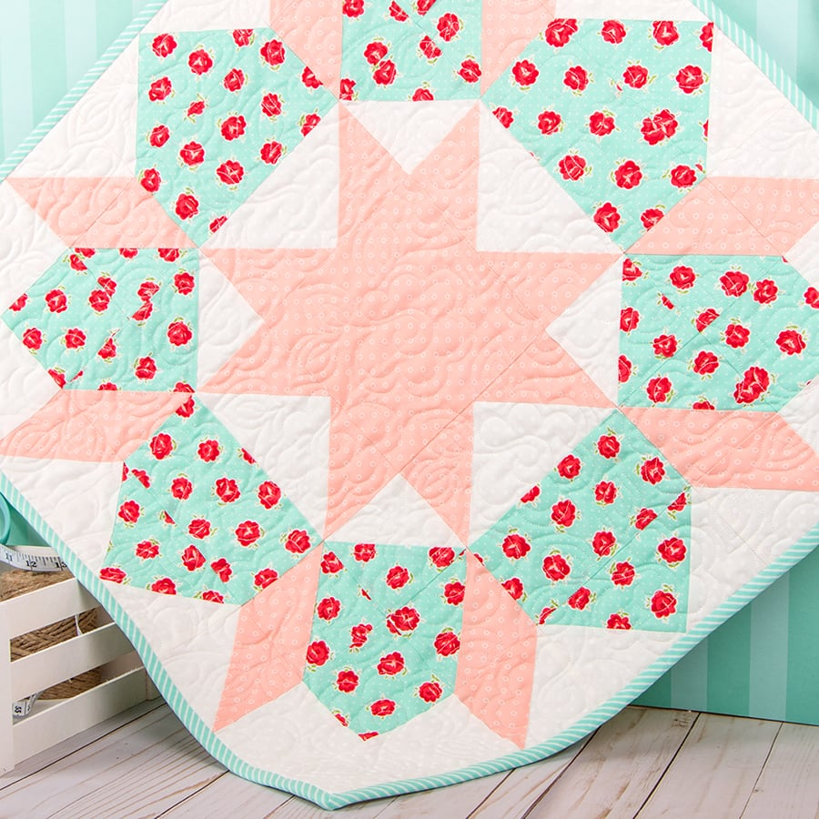 Kimberly's Swoon Mini Quilt