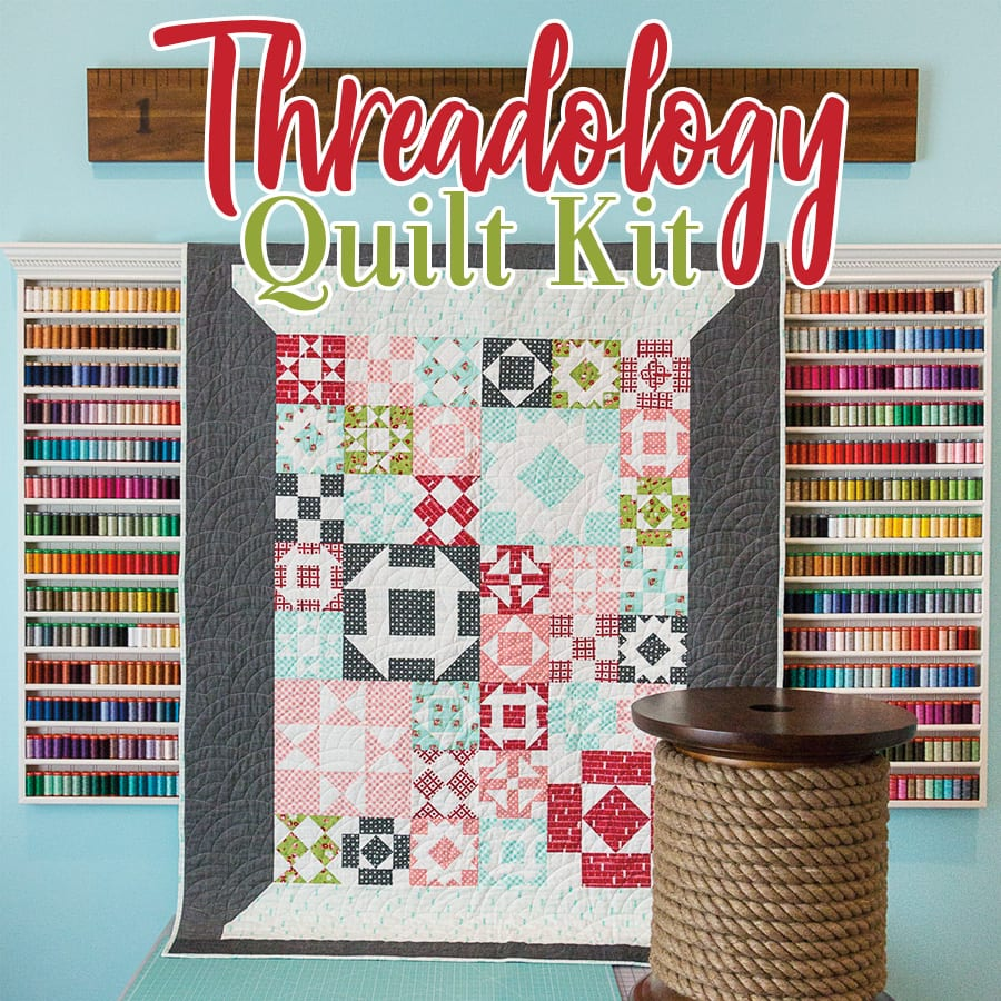 Threadology Quilt Kit