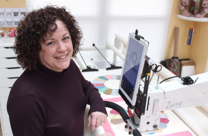 Amy Bouchard of Cascading Quilts