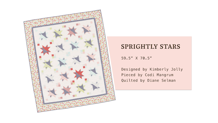 Sprightly Stars by Kimberly Jolly