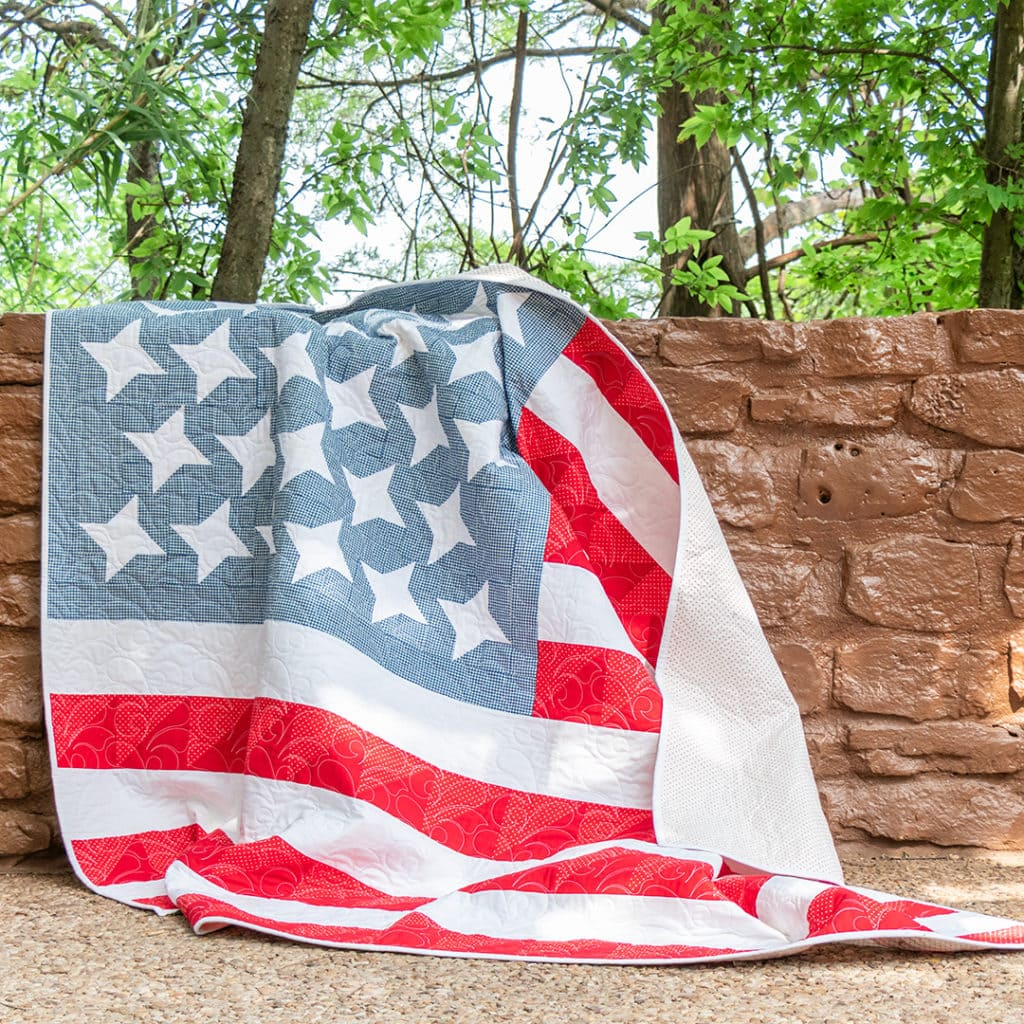Amazing Patriotic Quilt Pattern And Tablerunner Free Pattern And Home Interior And Landscaping Eliaenasavecom