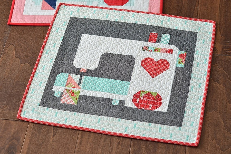 STITCHED WITH LOVE QUILT PATTERN BY THIMBLE BLOSSOMS