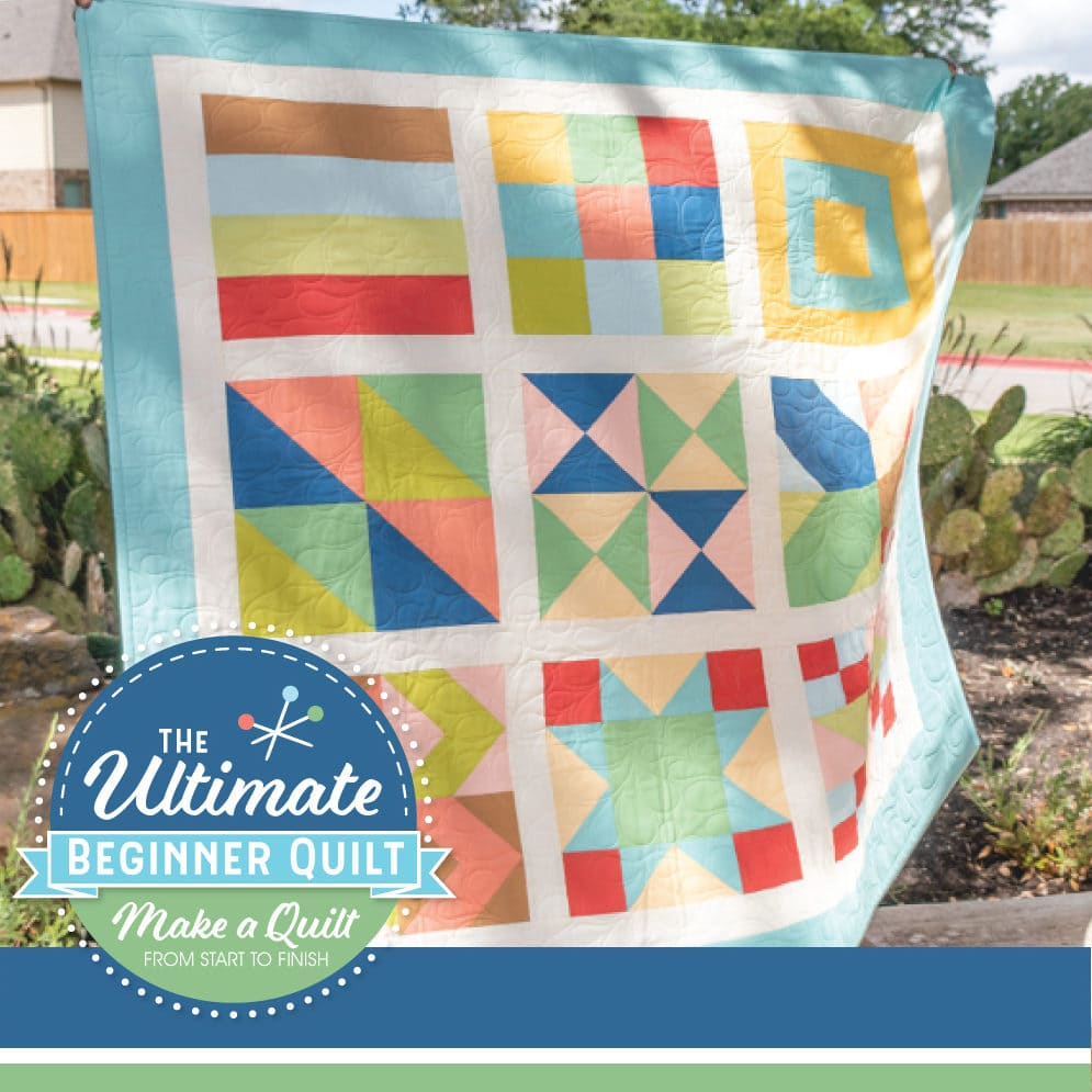 The Ultimate Beginner Quilt Sew Along   The Jolly Jabber Quilting Blog