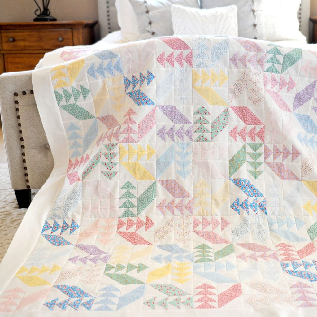Free Pattern Swan Dive Quilt