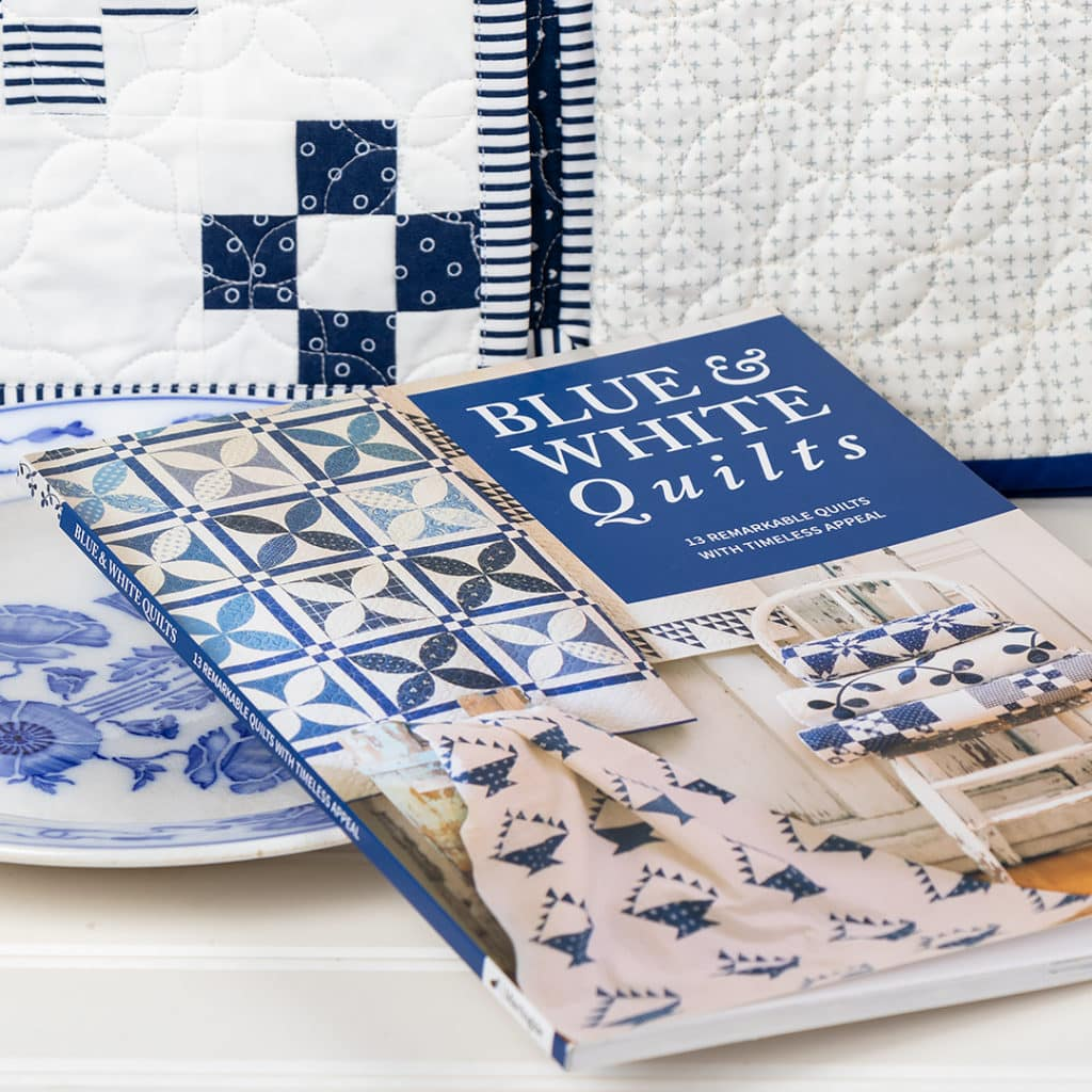 Blue and White Quilts Inspired by Vintage and Classic Patchwork