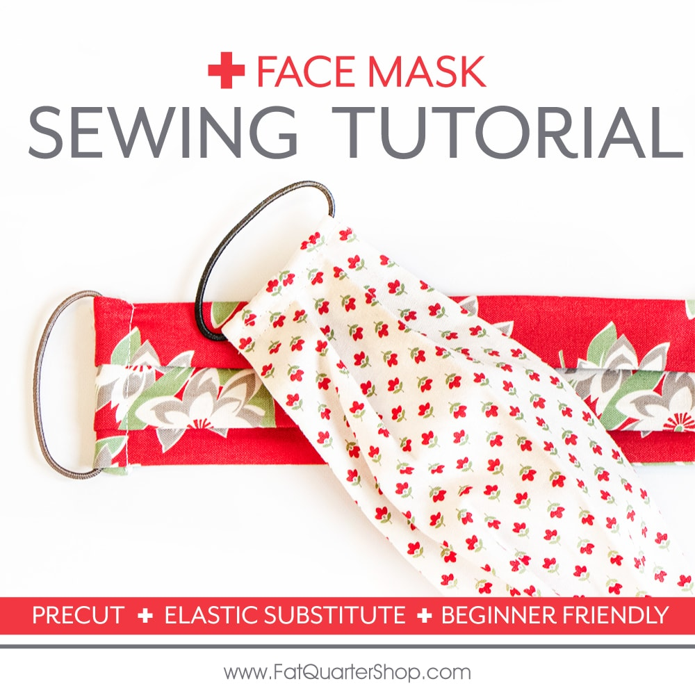 Free Face Mask Sewing Tutorial With Hair Ties Size Options The