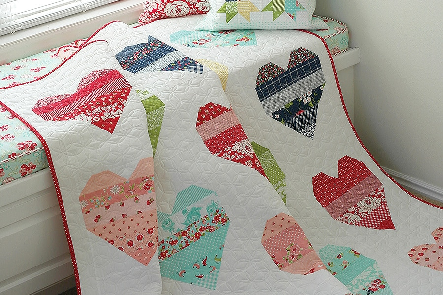 Bonnie & Camille Quilt Bee - You Have My Heart Quilt